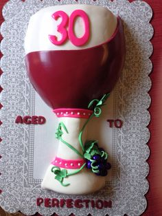 Wine Glass Cake Birthday Parties Cakes Gifts Ideas