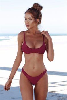 Active Women Bikini Swimwear Zipper Swimsuit High Elastic Bikinis Women Bathing Suit Biquini Brazilian Bikini Sport Beachwear Yoga Socks