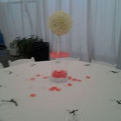 Center Piece Created by Knot Me Event Planning Slidell, LA