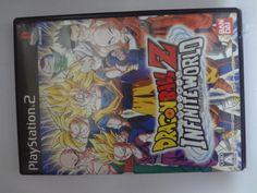 Japan game PS2 Dragon Ball Z Infinite World BANDAI Free Shipping Japanese   #BANDAI