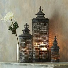 I want these temple lanterns now!