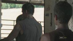 Daryl & Carol in the barn  [ The Walking Dead ]