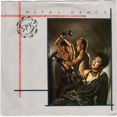 "SPK - Metal Dance, 7"" vinyl, Desire records, industrial, Graeme Revell, c.1983 #vinyl"