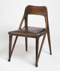 Richard Riemerschmid art nouveau chair, 1899. (collection of the PMA)