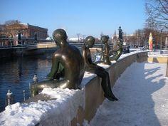 Estátuas de bronze - Berlim