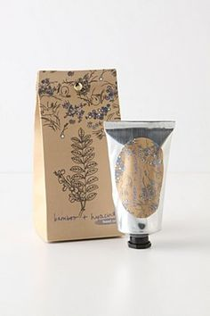 Tied & Folded Hand Cream | Anthropologie.eu    Gorgeous packaging
