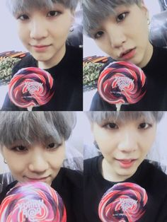 ❁ Suga is a little baby