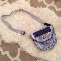 Tie-dye Lululemon Festival Bag Used once!! Super cute and clean!!! lululemon athletica Bags Crossbody Bags
