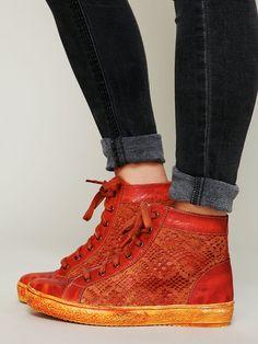 Free People Atlas Crochet Sneaker, $128.00