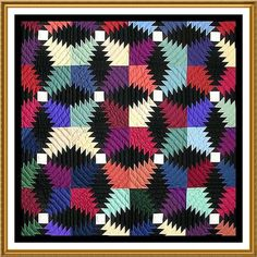 Sawtooth Stars Rossettes Inspired by An Amish Quilt Counted Cross Stitch Chart | eBay