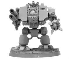 MKIV Dreadnought inferno cannon Space Marine Warhammer 40k