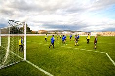 Football pitch  - Bovalar Football Pitch, Competition, Camping, Sports, Summer, Campsite, Hs Sports, Sport, Summer Recipes