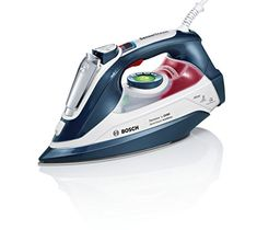 Bosch Anti-Shine Steam Iron, 2800 W - L, Magic Night Blue - Uk Appliances Direct Iron Steamer, Steam Iron, Home Improvement, Home Appliances, Magic, Night, Steamers, Blue, Search