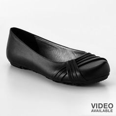 Mudd black flats - Kohls - I adore heels but prefer to wear flats.