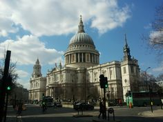 The iconic St Paul's Cathedral, London