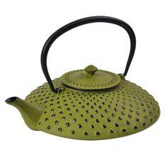 Time for Tea Cast Iron Teapot 1.2 L, Green, $45 !!