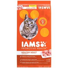 IAMS PROACTIVE HEALTH Adult Original With Chicken Dry Cat Food 22 Pounds -- More info could be found at the image url-affiliate link.
