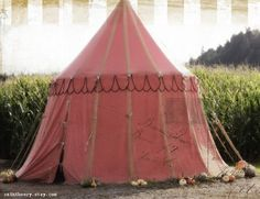 Antique Circus Gypsy Sideshow Tent
