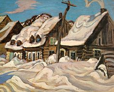 Alexander Young Jackson - Member of the Group of Seven, Canadian Painters Tom Thomson, Emily Carr, Group Of Seven Artists, Group Of Seven Paintings, Canadian Painters, Canadian Artists, Winter Painting, Winter Art, Of Montreal