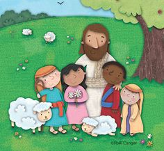 Holli Conger | Bible storybook cover