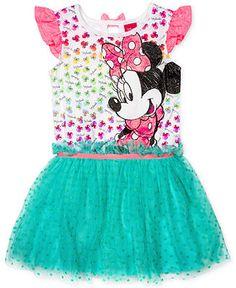 006a3ba22 Disney Little Girls' Minnie Mouse Tutu Dress & Reviews - Kids - Macy's