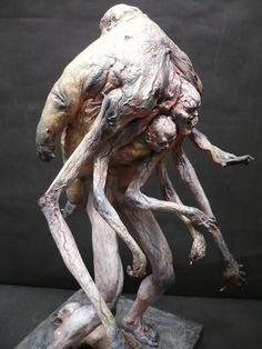 TOY GYARAGE WEB Monster Design, Monster Art, Arte Horror, Horror Art, Creature Feature, Creature Design, Creepy Art, Scary, Dark Fantasy