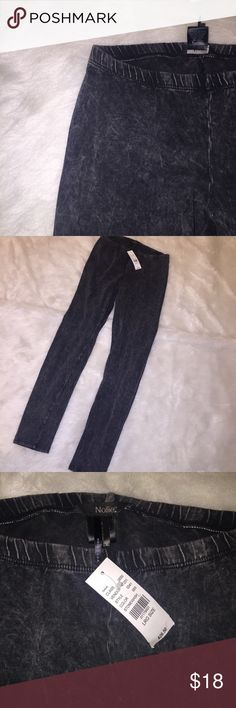 1DAY SALE •Acid Wash Leggings• Super cute gray/black leggings with kind of an acid wash/denim look to them. Never worn, still has tags! Cover photo is different brand but very similar. Photos 2 and 3 are the leggings for sale. Nollie Pants Leggings