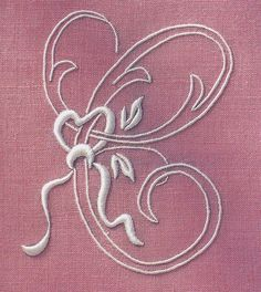 Embroidered initial C