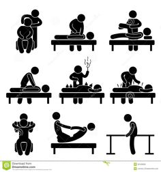 chiropractor clip art | Chiropractic Physiotherapy Acupuncture Massage Royalty Free Stock ...