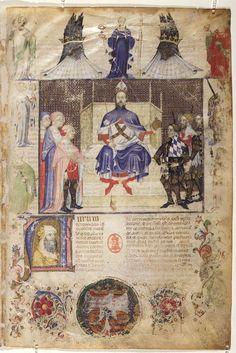 Historia Plantarum (Tacuinum Sanitatis ), 1390s Manuscript (Ms. 459) Biblioteca Casanatense, Rome