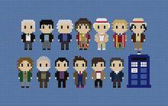 Doctor Who tous médecins point de croix
