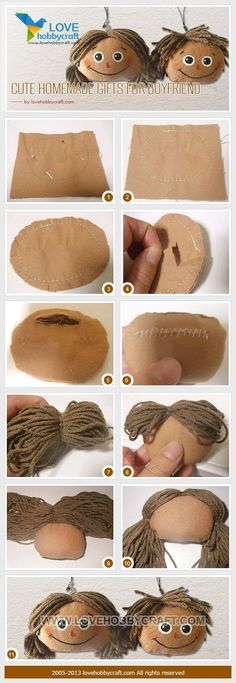 handmade doll: