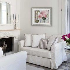 Fixer Upper Farmhouse art in a living room