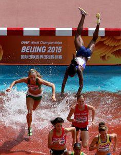Rolanda Bell in 15th IAAF World Athletics Championships Beijing 2015 - Day Three