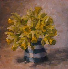 Oil on Panel Pastel Colors, Colours, Stop The Rain, Cornishware, Medicine Bottles, Lemon, Paintings, Oil