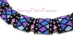 PDF TUTORIAL Mosaique Odd Count Peyote Bracelet & Double