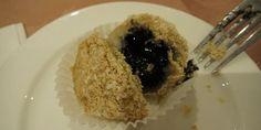 Ser godt ut og smaker godt: Black sesame seed dumplings