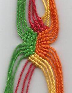 Tutorial - friendship-bracelets.net eternal wave/ Pandora style bracelet ▶