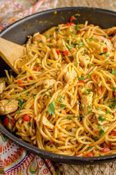 Slimming Eats Bang Bang Chicken Pasta - slimming world and weight watchers friendly - 2.5 syns or 11 WW Smart Points