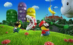 Luigi and Mario Minions - Super Mario Bros. Amor Minions, Cute Minions, Minions Despicable Me, Minions Quotes, Minions 2014, Minion Stuff, Shrek, Geeks, Minion Dress Up