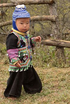 Hmong Boy from Vietnam