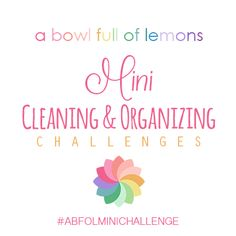 Looking for some accountability when it comes to cleaning and organizing? Need some fresh inspiration? Check out this busy community for some new ideas and discussion! Via A Bowl Full of Lemons