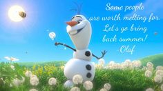 """Frozen Olaf The Snowman Music Video - In SummerOlaf, who burst onto the scene in a magical moment in """"Frozen,"""" counts warm hugs among his passions. Olaf is known for his innocent view of the world, Frozen Disney, Olaf Frozen, Disney Love, Disney Magic, Disney Pixar, Walt Disney, Disney Characters, Frozen Quiz, Disney Quiz"""