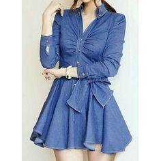 SKU: NVYXI0IITG01V56 Colors: Blue. Size: S, M, L, XL. Price: US$31.58 | PKR 3600 Category: Women->Dresses->Women Dresses… #Vivoren #Fashion