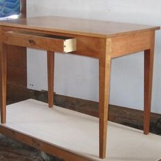 This little desk showcases the fine lines of Shaker construction Making furniture from beech and old sawn Mahogany Choose from a variety of designs