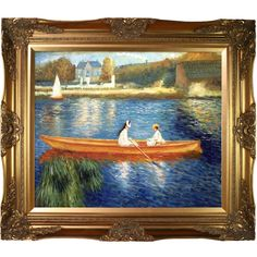 Renoir 'Boating on the Seine' Art