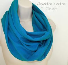 Shoply.com -Jersey Infinity Scarf Bright Sapphire Blue. Only $20.00