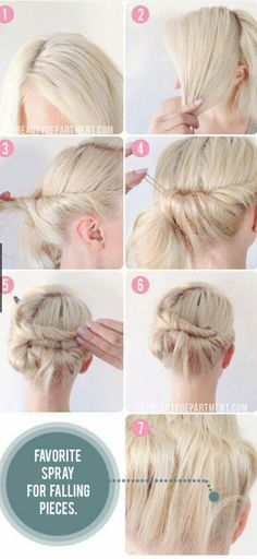 Easily done updo