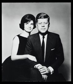 Première dame Jacqueline et Président John F. Kennedy / First Lady Jacqueline and President John F. Kennedy