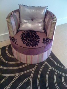 Childrens Chair in Lorca, Osborne and Little and Designers Guild